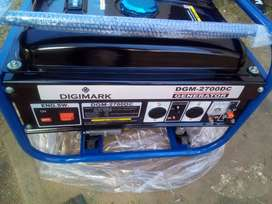 2.2kw,2700watts Digimark generator for only R3100 new,Free delivery