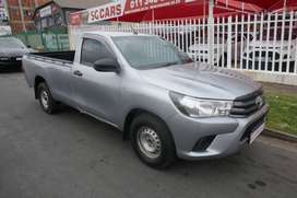 2017 TOYOTA HILUX 2.4GD6 SINGLE CAB HI- RIDER