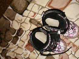 Ботинки осенние (демисезонные)на девочку