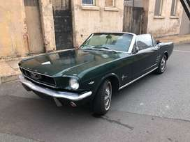 1966 Ford Mustang v8 289 Convertible – Clean Classic Car
