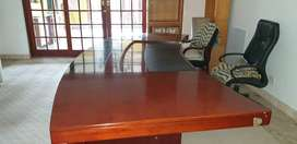 Executive Office Desk, Chairs & Cabinets