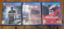 PS4 games for sale R150 each