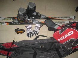 komplet narciarski