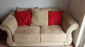 Suede Couches