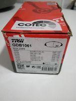 Тормозные колодки TRW ( Lucas ) GBD 1061