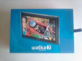 """Walka 7"""" Portable TV. In a box. Complete. As good as new."""