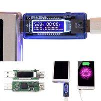 USBтестер KEWEISI KWS-V20 для опред 4-х парам напр. ток ёмкость время