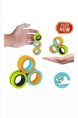 Stress Relief Magnetic Rings / Creative Decompression Artifact