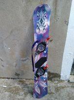 Deska Snowboardowa snowboard Oxbow 157+okucia
