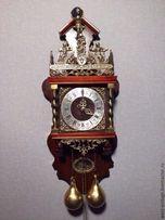 Заанские настенные часы WUBA с боем