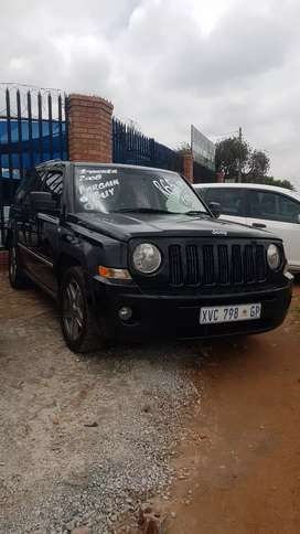 Jeep Patriot crd only R59900