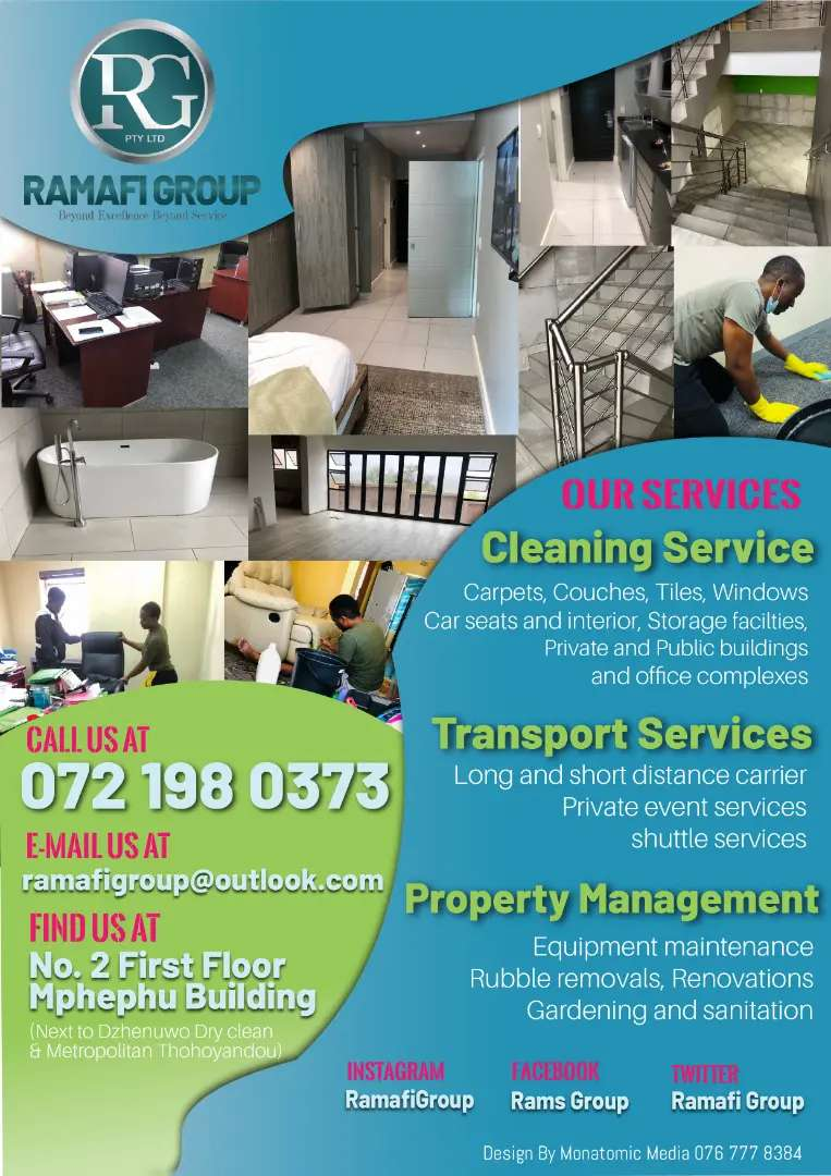 Ramafi Group Cleaning services
