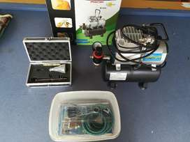 Airbrush Compressor and Kit
