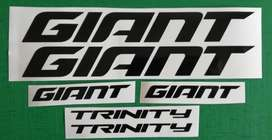 Giant Trinity bicycle frame decals stickers graphics kits