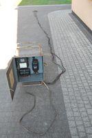 Rozdzielnia z licznikiem prądu i zaczepami do niskiego napięcia z PRL