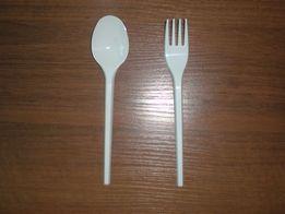 Одноразовые ложки, вилки, тарелки