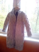 Пальто GUESS на девочку (на 10-13 лет). Длинненькое, голубое, красивое