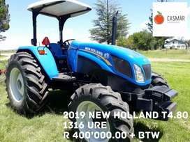 2019 NEW HOLLAND T4.80
