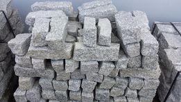 Opornik granitowy, palisada, kamień murowy Szamotuły