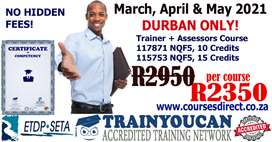 ETDP Seta Accredited Facilitator, Assessor, Moderator courses.
