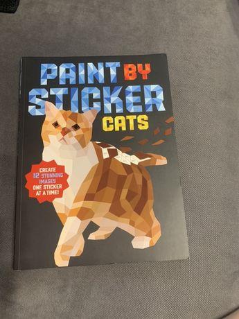 Наклейки картины поделки коты