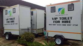 VIP MOBILE TOILETS FOR HIRE