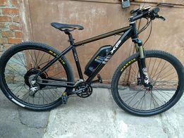 "Электровелосипед Italy E-bike I-Rock XP 29"" найнер 400W DeoreXT FOX32"