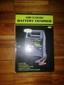 8 AMP 12/230 VOLT (BATTERY CHARGER) for 6 and 12 volt