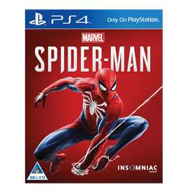 Marvel Spiderman PS4 Game