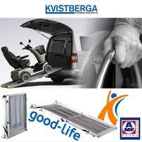Rampa najazdowa - podjazd na wózek inwalidzki do auta