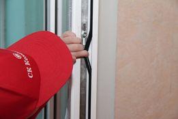 Замена уплотнителя, регулировка, ремонт пластиковых окон и дверей