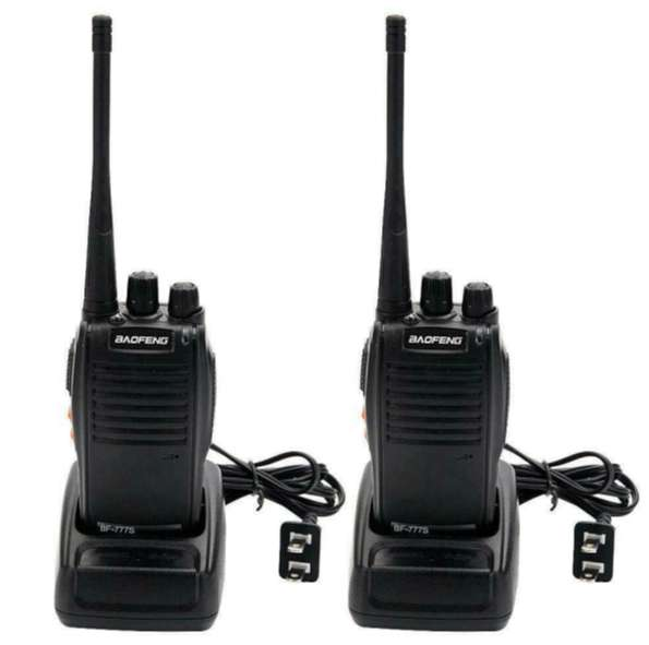 2 x BAOFENG BF-888S UHF 400-470MHz 5W Ham Two Way Radio Long Range Wal