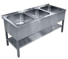 Кухонное оборудование из нержавейки мойки, столы, стеллажи