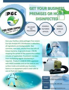 Pro Germ Control Cleaning services & disinfecting fogging services