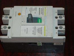 автоматичний вимикач АВ3001/3н 20А