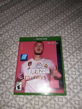 FIFA 20 XBOX ONE(NEW/USED TWICE)