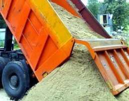 Песок, шлак, граншлак, щебень, отсев, грунт, мусор,шлакоблок