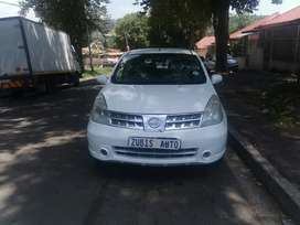2010 NISSAN LIVINA WITH AN ENGINE CAPACITY OF 1,6