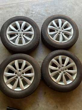 VW Polo Tyres and Rims