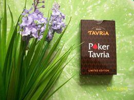 Карты игральные сувенирные Poker Tavria. Лимитированная серия. 54 шт.