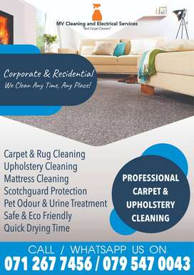 Mv cleaning and Electrical Services