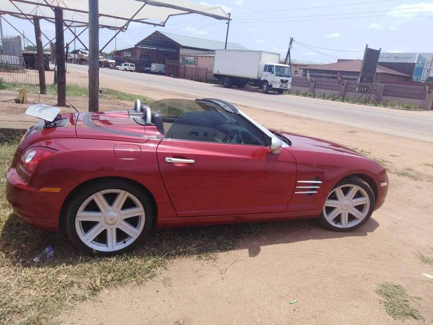 Chrysler Crossfire Convertible 0