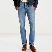Новые джинсы Levis 501 Made in USA, Medium Authentic Левис, США