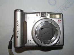 Продаю фотоаппарат CANON Power Shot A700 не рабочий