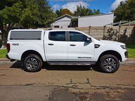 2018 Ford Ranger wildtrak 3.2 4x4 auto with 20400kms