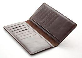 Мужской кожаный кошелек портмоне купюрник ST натуральная кожа