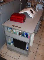 Стол для мастера маникюра, комплексное рабочее место ногтевого мастера