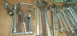 Gedore / Stanwille slog rings  king dick  indrustral spanners