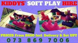 Kids S0ft Play Toys Hiring