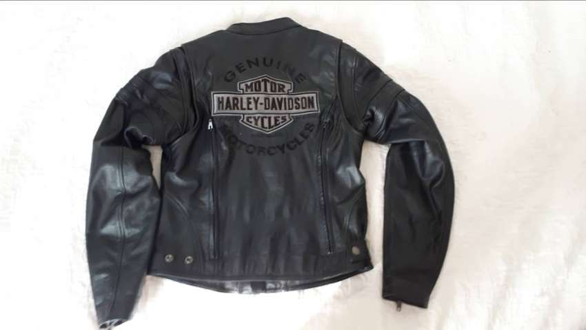 Ladies Harley davidson Leather Jacket 0